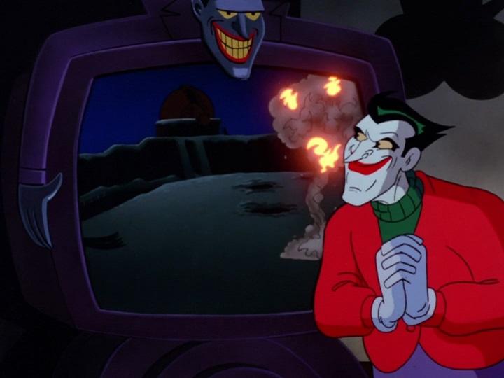 Batman 002 Karácsony Jokerrel