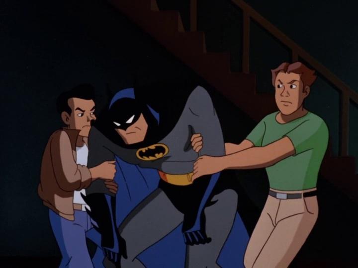Batman 013 Batman a pincémben van