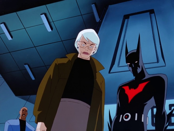 Batman of the Future 12 Curaré érintése