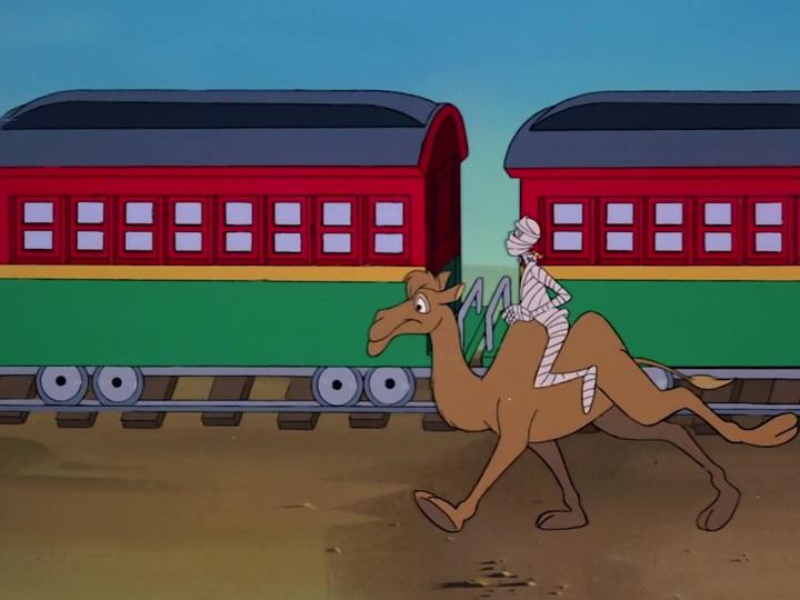 Chip és Dale - A Csipet Csapat 28 Dobjuk ki a múmiát a vonatból!