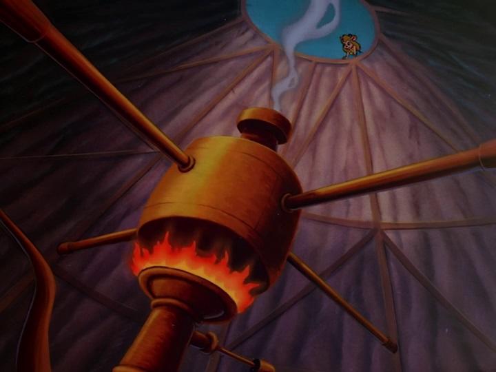 Chip és Dale - A Csipet Csapat 46 A hamis Sziporka, hamis vulkánja