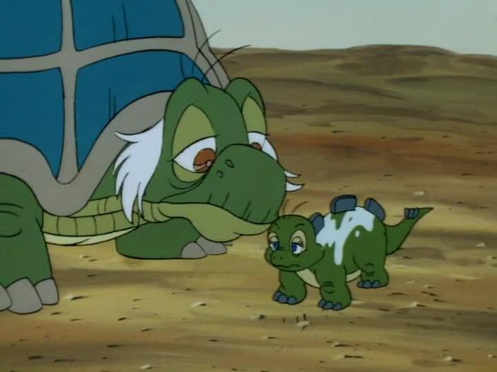 Dini, a kis dinoszaurusz 05 Morgó kicsinye