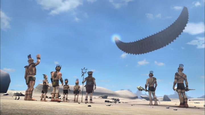 Enyo legendája 10 A homok hajója