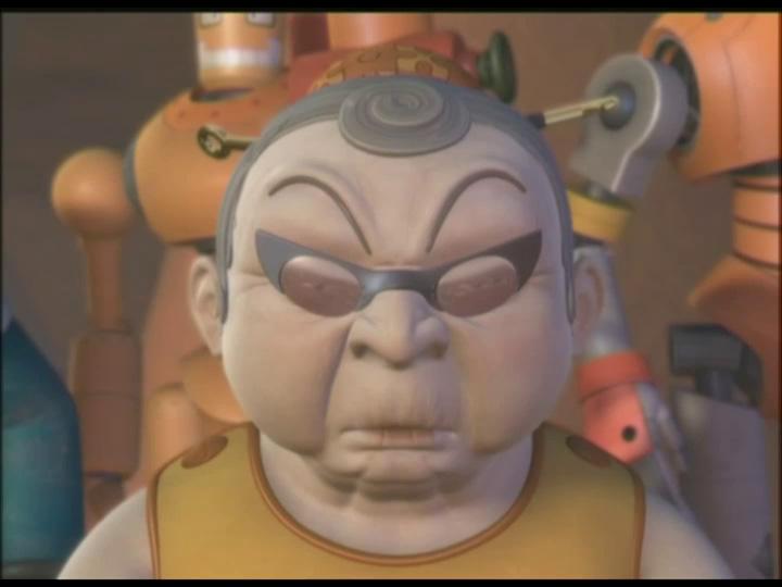 Iron Kid - A legendás ököl 06 Narancs mama