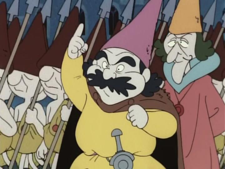 Óz, a nagy varázsló 50 A kőtörpök támadása