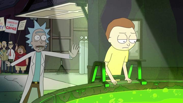 Rick és Morty 39 A savtartályos epizód